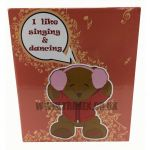 "AP22484 10"" TEDDY BEAR SINGING AND DANCING SPEAKER"