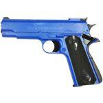 HG123 SEMI AUTOMATIC GAS POWERED PISTOL BLUE