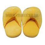 ASLIPPER1 LAUGHING TEARS PLUSH ADULT SLIPPERS