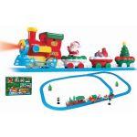 22838 CHRITMAS BATTERY OPERATED SANTA TRAIN TRACK