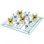 B805 TIC TAC TOE DRINKING GAME SET