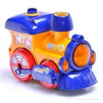 WS8323 BATTERY  OPERATED BUMP N GO BUBBLING BLOWING TRAIN