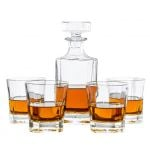 30114 WHISKEY DECANTER 5 PIECES  SET
