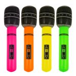 X99 334 INFLATABLE  MICROPHONE 66CM